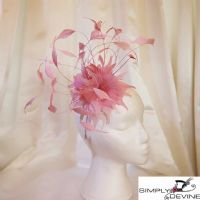 Pink Mother of the Bride Fascinator